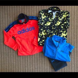 Adidas & Under Armour boys clothing
